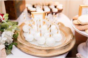 Witte bruiloft cakepops
