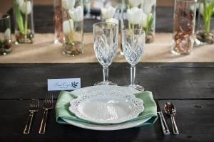 Bruiloft centerpieces