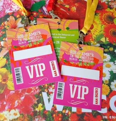 Festival bruiloft uitnodigingen