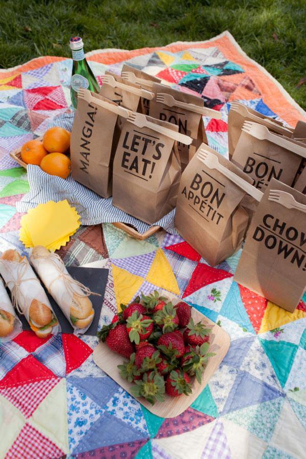 Lekkere picknick ideeën voor in een lunchzakje