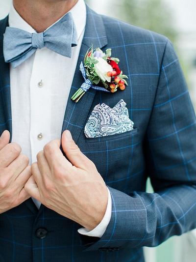 Jasje bruidegom met ruit