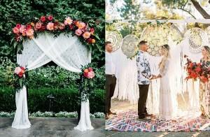 Bruiloft backdrops
