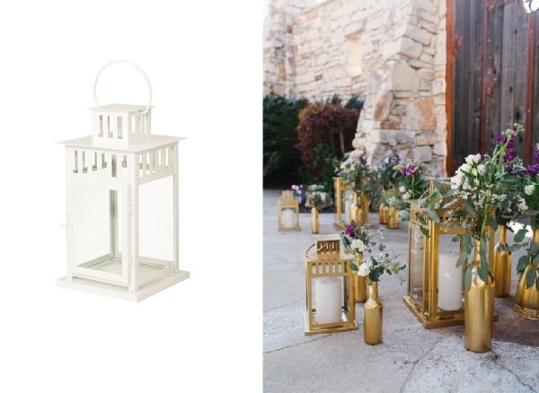 IKEA lantaarn voor bruiloft