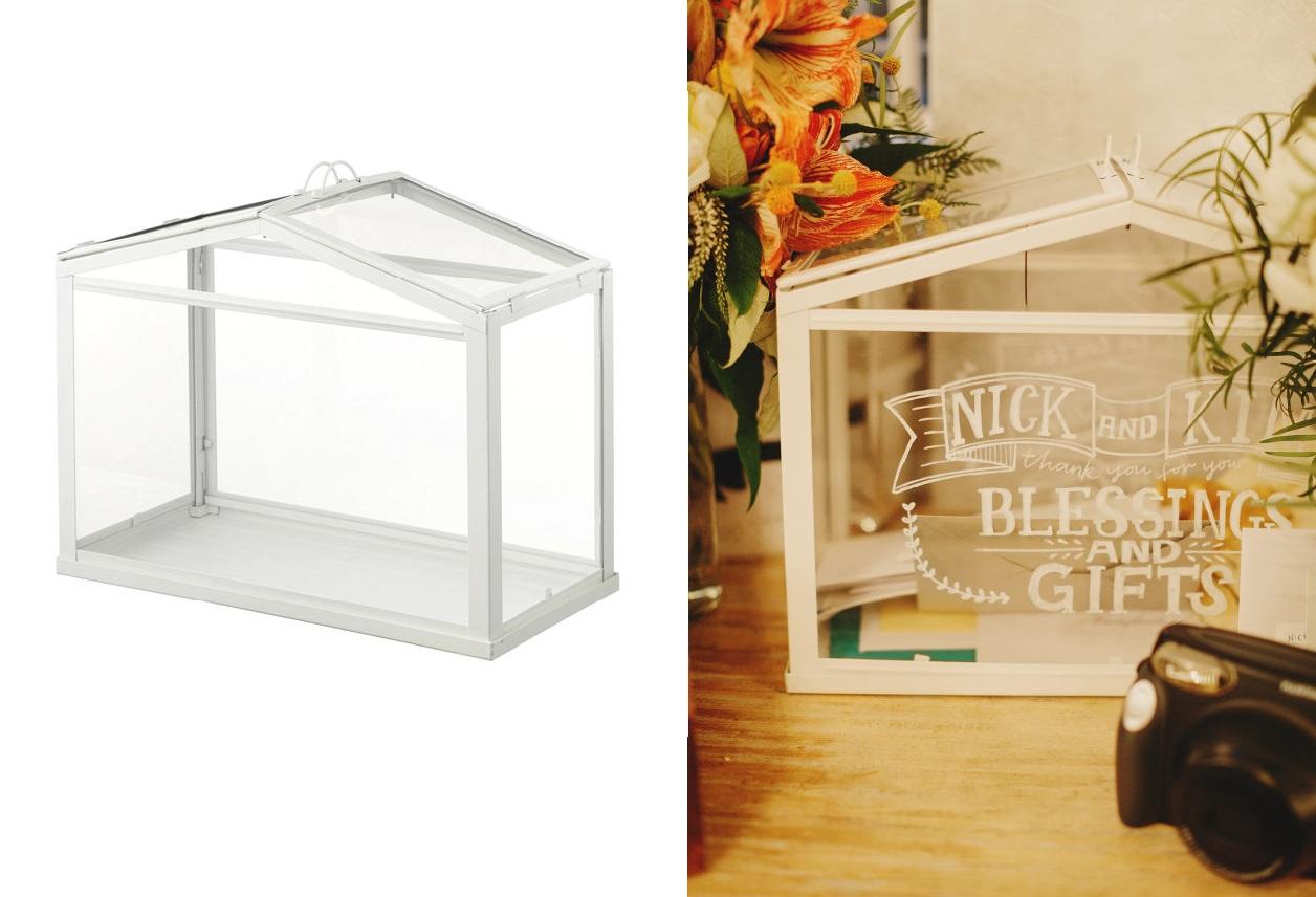 IKEA enveloppendoos bruiloft