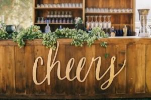 Bar op bruiloft