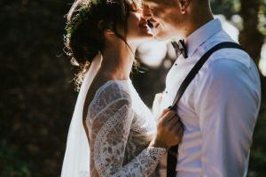 Bruiloft ideeën bruidspaar