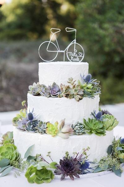 Botanical bruidstaart