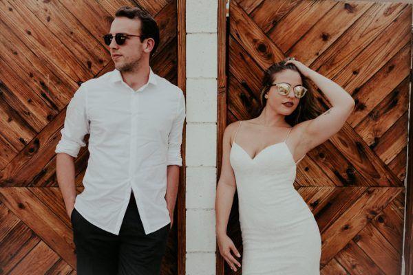 Huwelijksreis fotoshoot