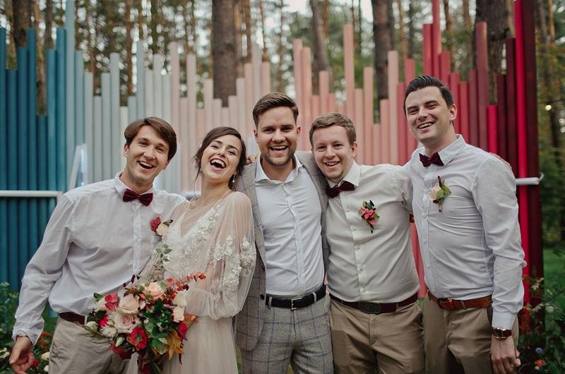 Kleuren bruiloft