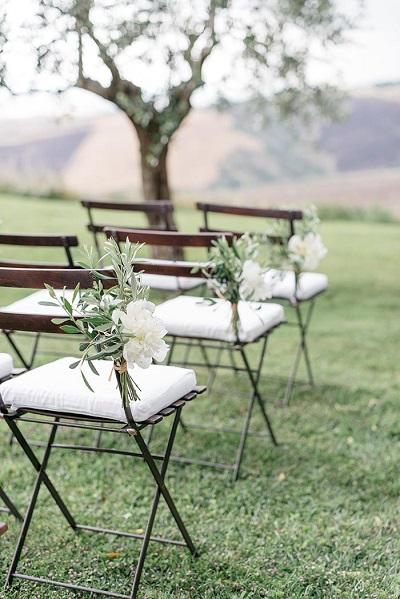 Bruiloft decoratie ceremonie