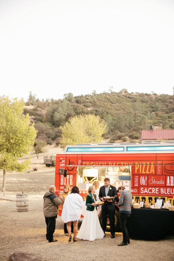 Bruiloft foodtruck