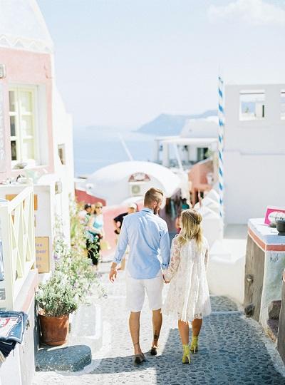 Huwelijksreis Griekenland