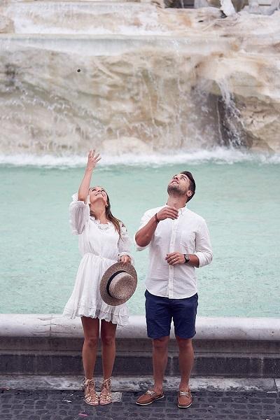 Huwelijkreis in Rome