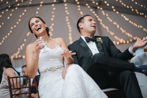 Bruidspaar verrassen