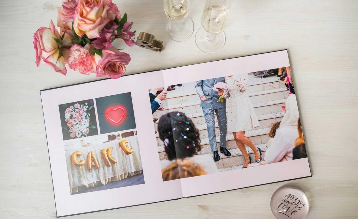 Trouwboek van jullie bruiloft
