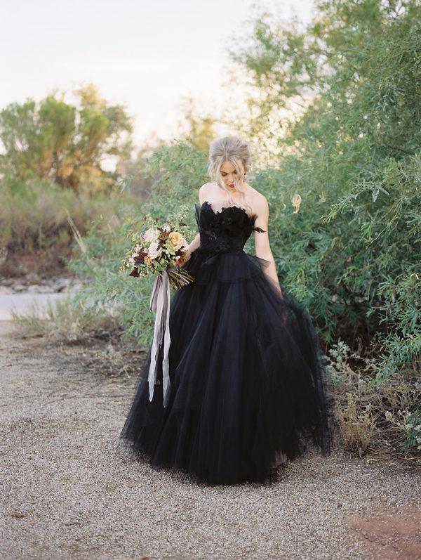 Bruid in het zwart