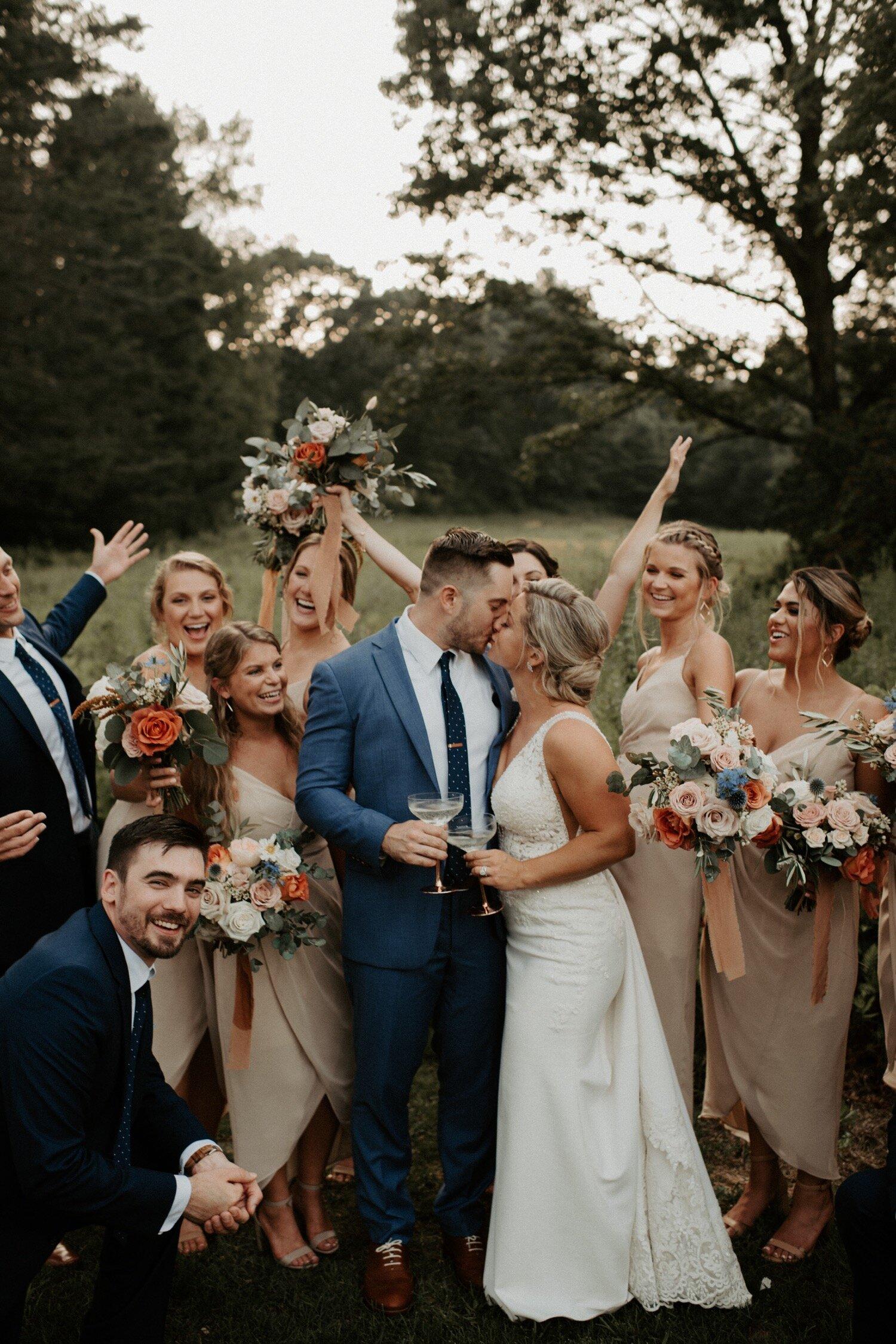 Onvoorziene kosten op een bruiloft