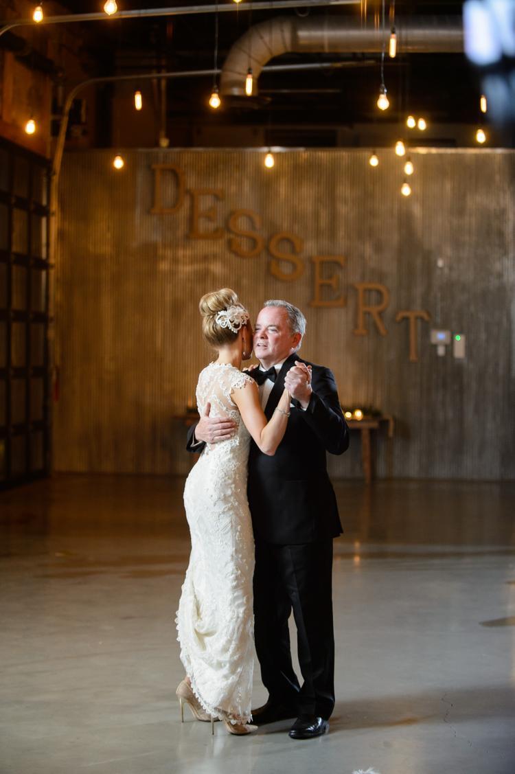 Vader dochter dans bruiloft