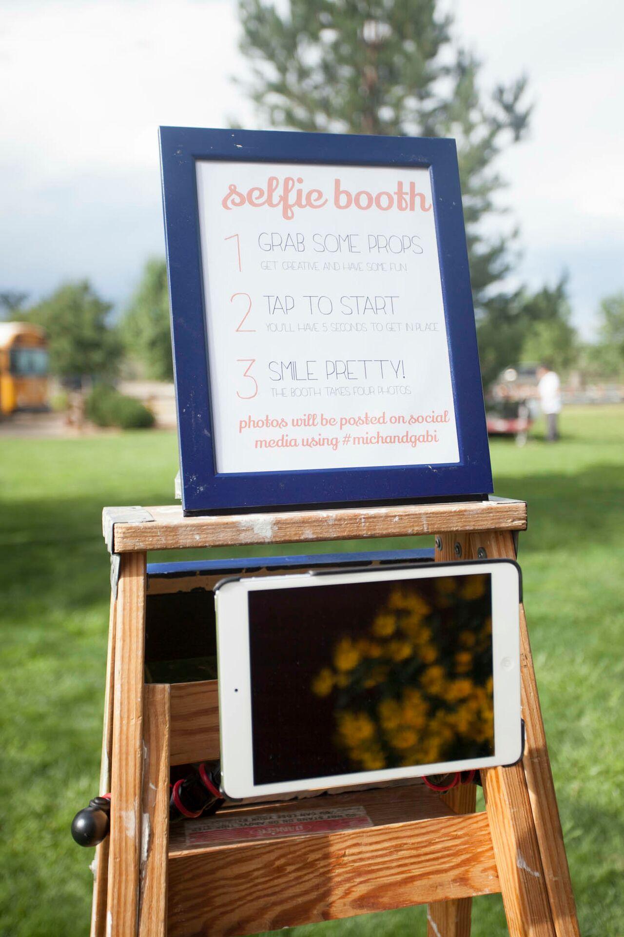 Photobooth maken met een tablet