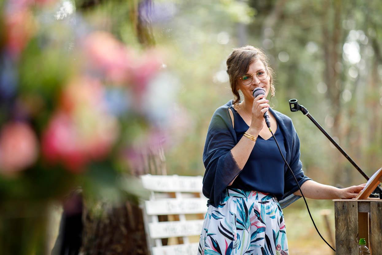 Speech geven op een bruiloft
