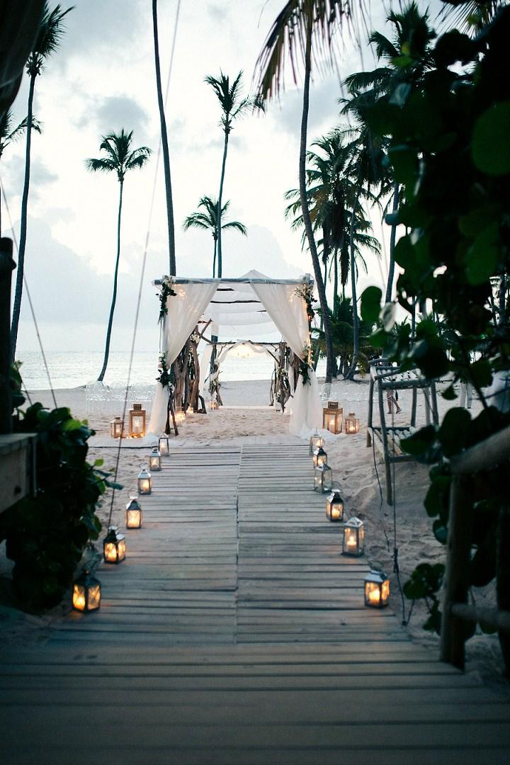 Strand bruiloft ideeën