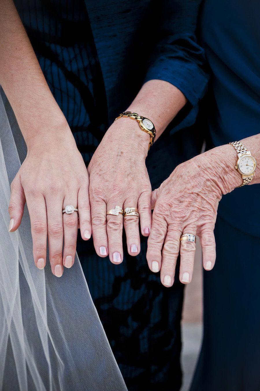 Generatiefoto laten maken op de bruiloft