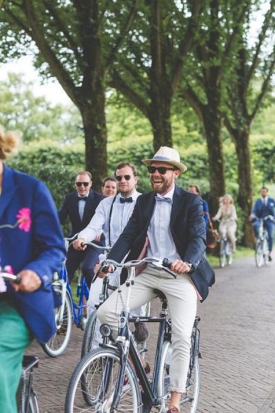 Summer chic bruiloft dresscode man