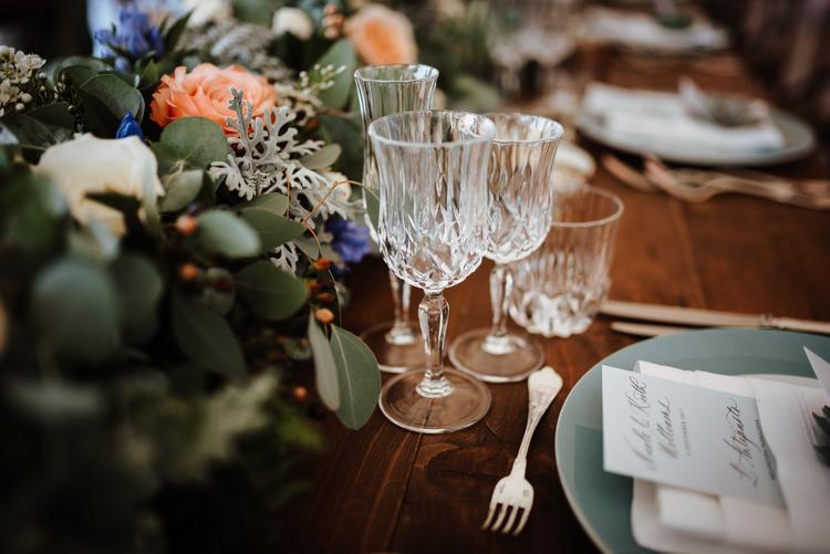 Diner tijdens het huwelijk