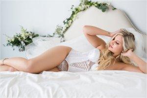 Bridal lingerie fotoshoot