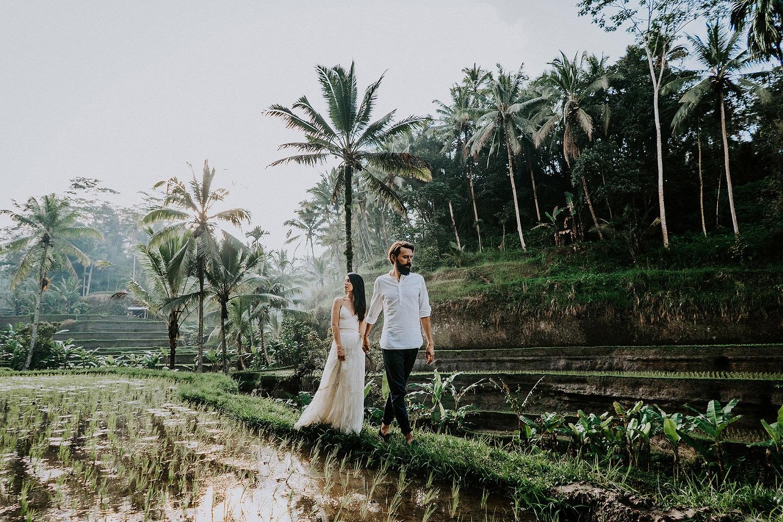 Huwelijksreis op Bali