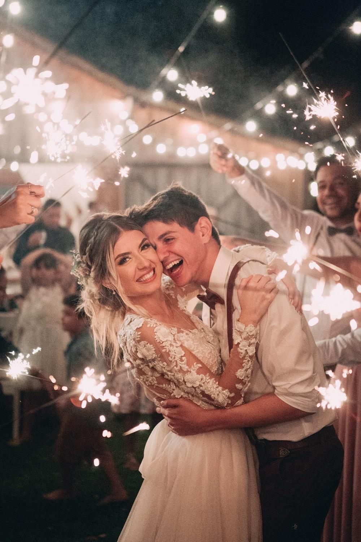 Afsluiting van de trouwreportage