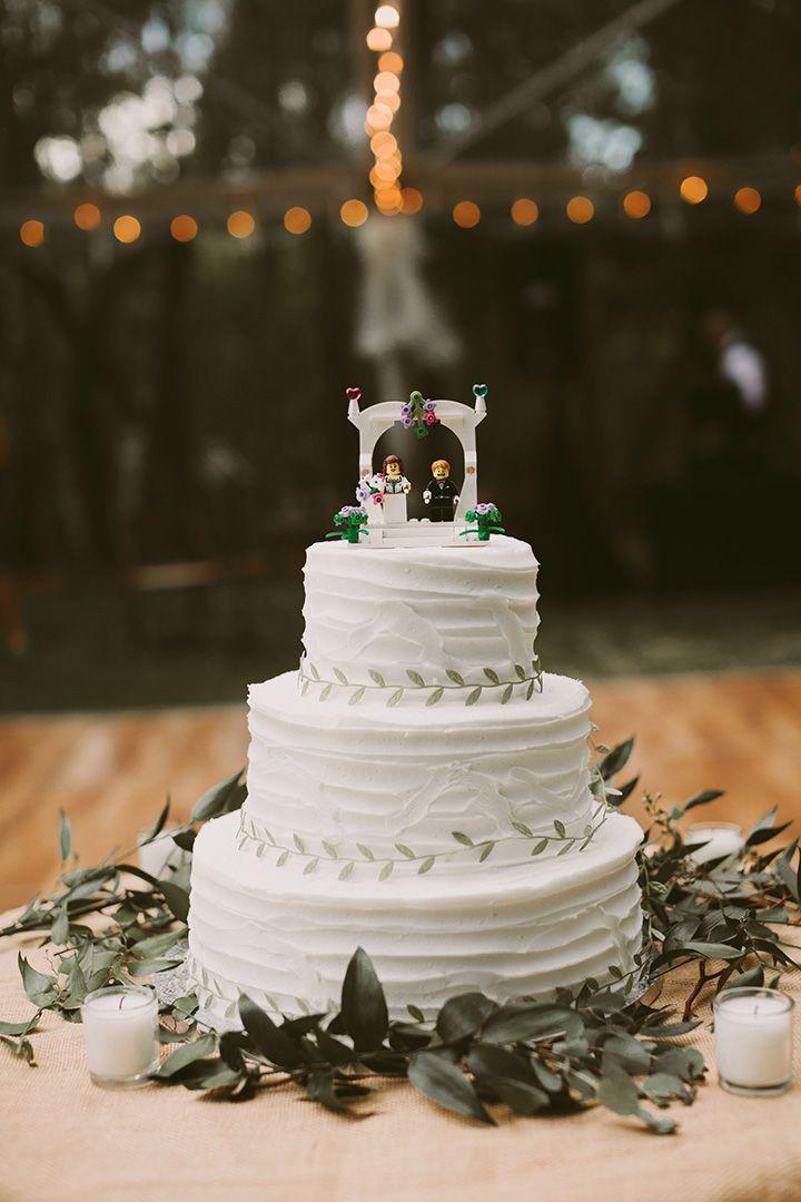LEGO taarttopper bruiloft