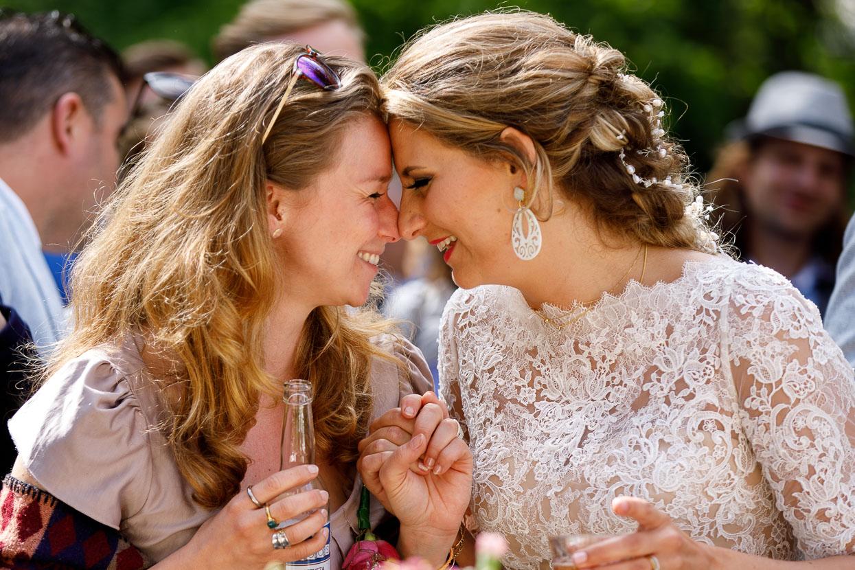 Bruid met ceremoniemeester