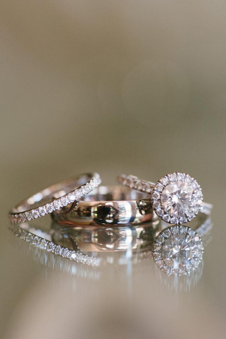Trouwringen en verlovingsring