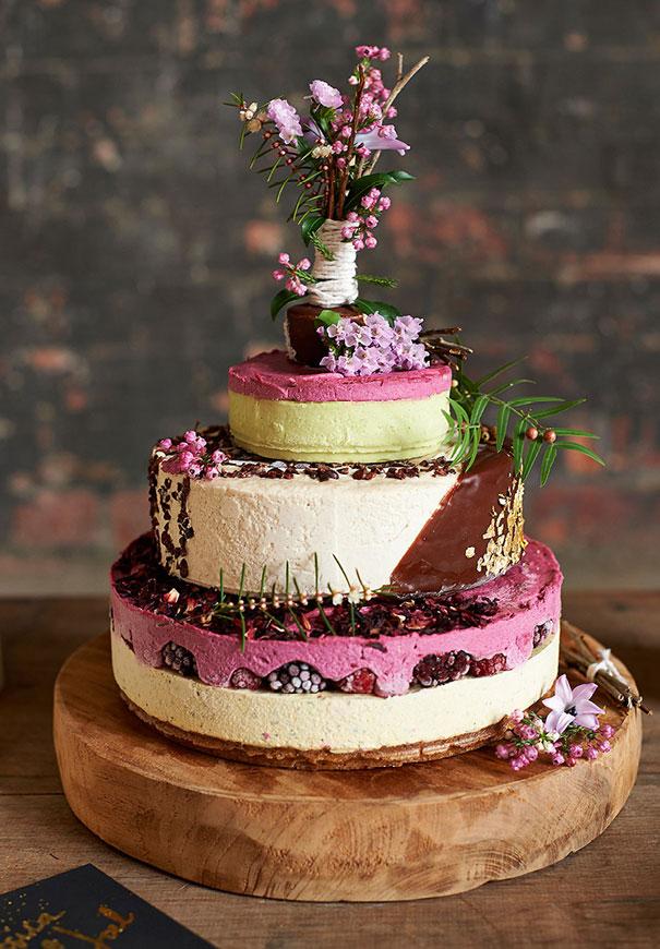 Cheesecake op bruiloft