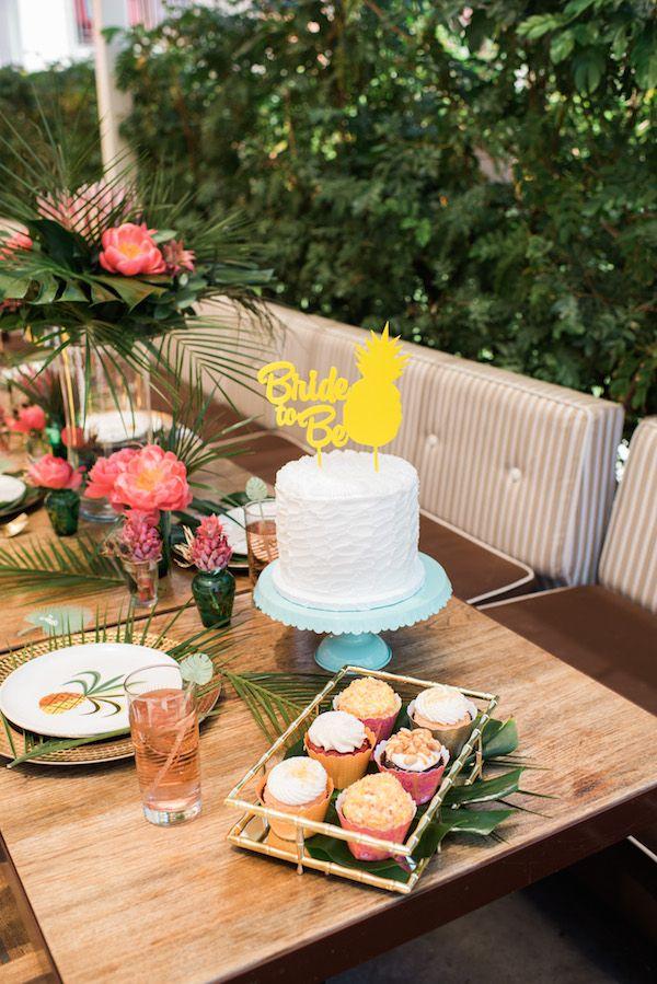 Taart voor de bride to be
