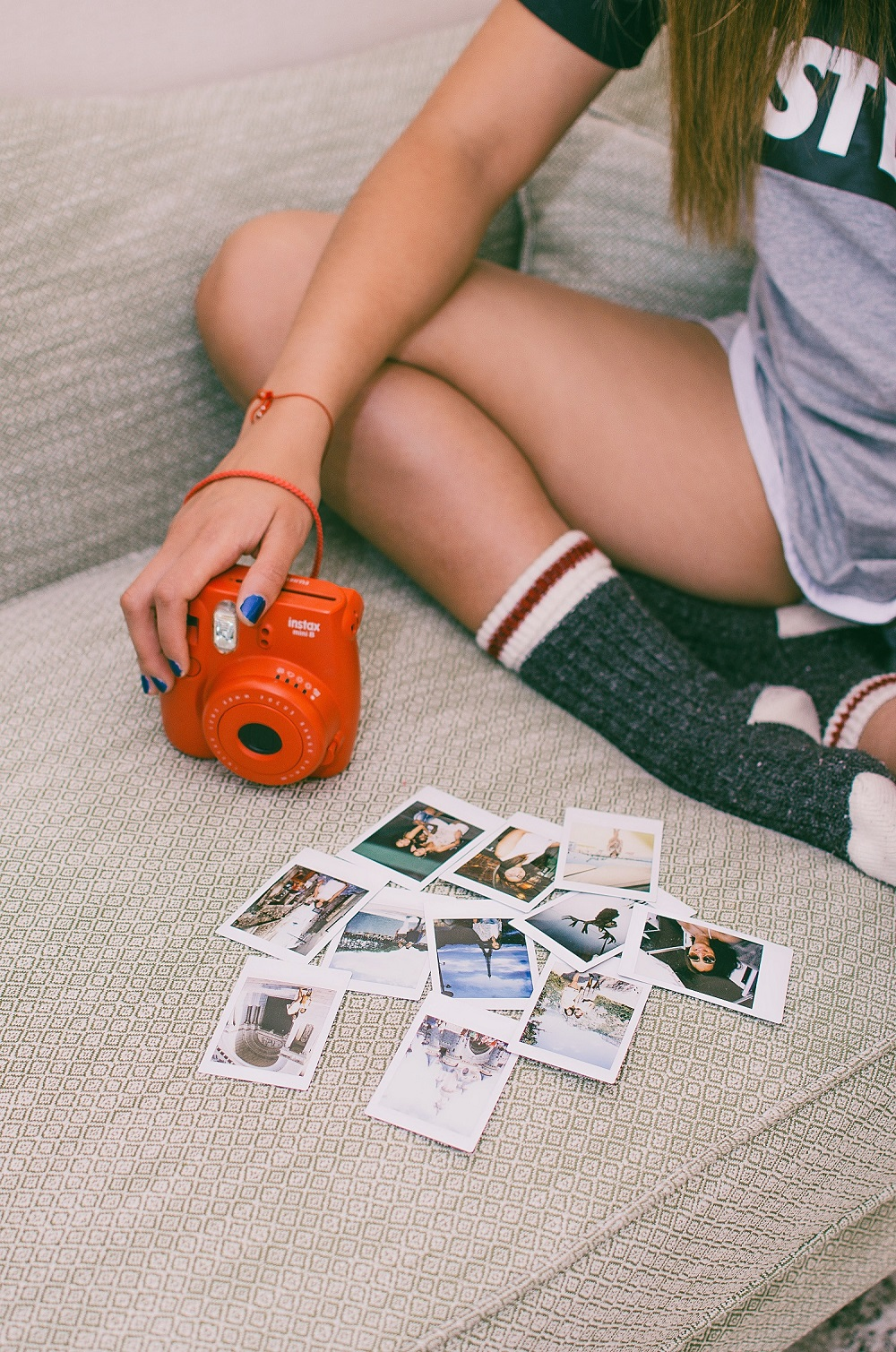 Polaroidcamera als Valentijnscadeau
