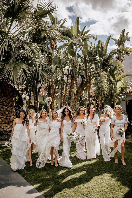 Als gast draag je geen wit op de bruiloft