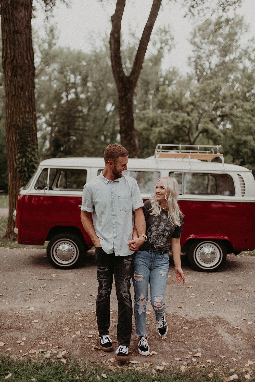 Huwelijksreis in Nederland met een Volkswagenbusje