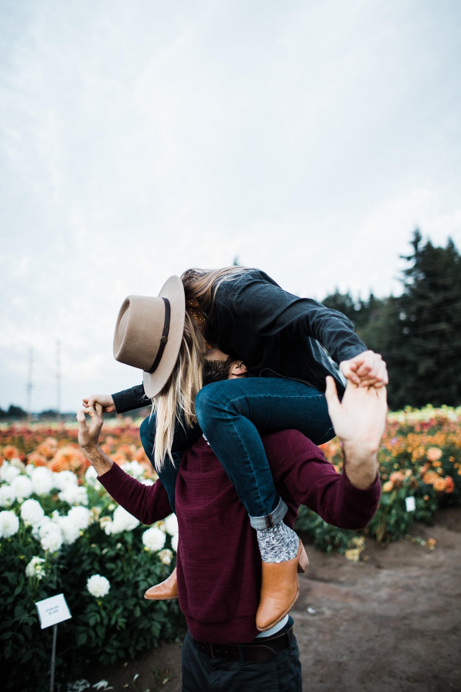 Romantische fotoshoot voor verloving