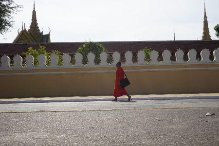Monnik voor Royal Palace