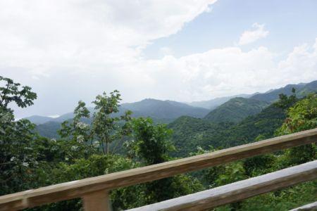 Gebied richting Baracoa