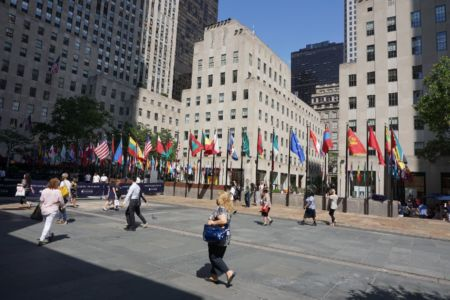 Rockefeller square