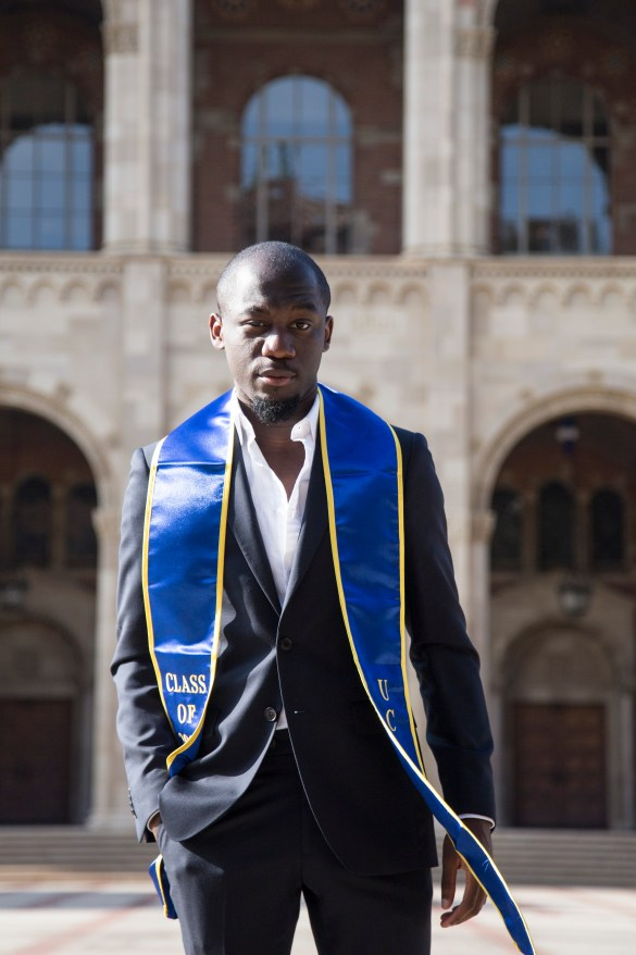 Gaël Aimé Adrien Mbama: 2017 UCLA Senior of the Year