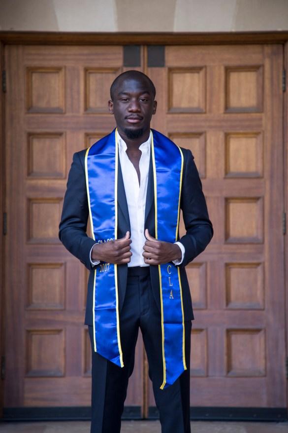 Gaël Aimé Adrien Mbama: 2017 UCLA Senior of the Year