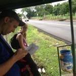 Alajuela Costa Rica bus stop