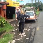 Living in Costa Rica vegan family at Abastecedor