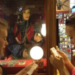 Fortune Teller Machine at the Ye Olde Curiosity Shop in Seattle, Washington