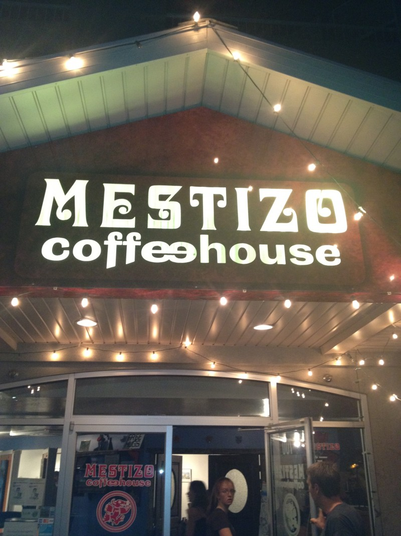Open Mic Night at the Mestizo Café in Salt Lake City, Utah — By Jennifer Shipp