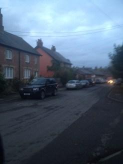 A street in Great Berwyn.
